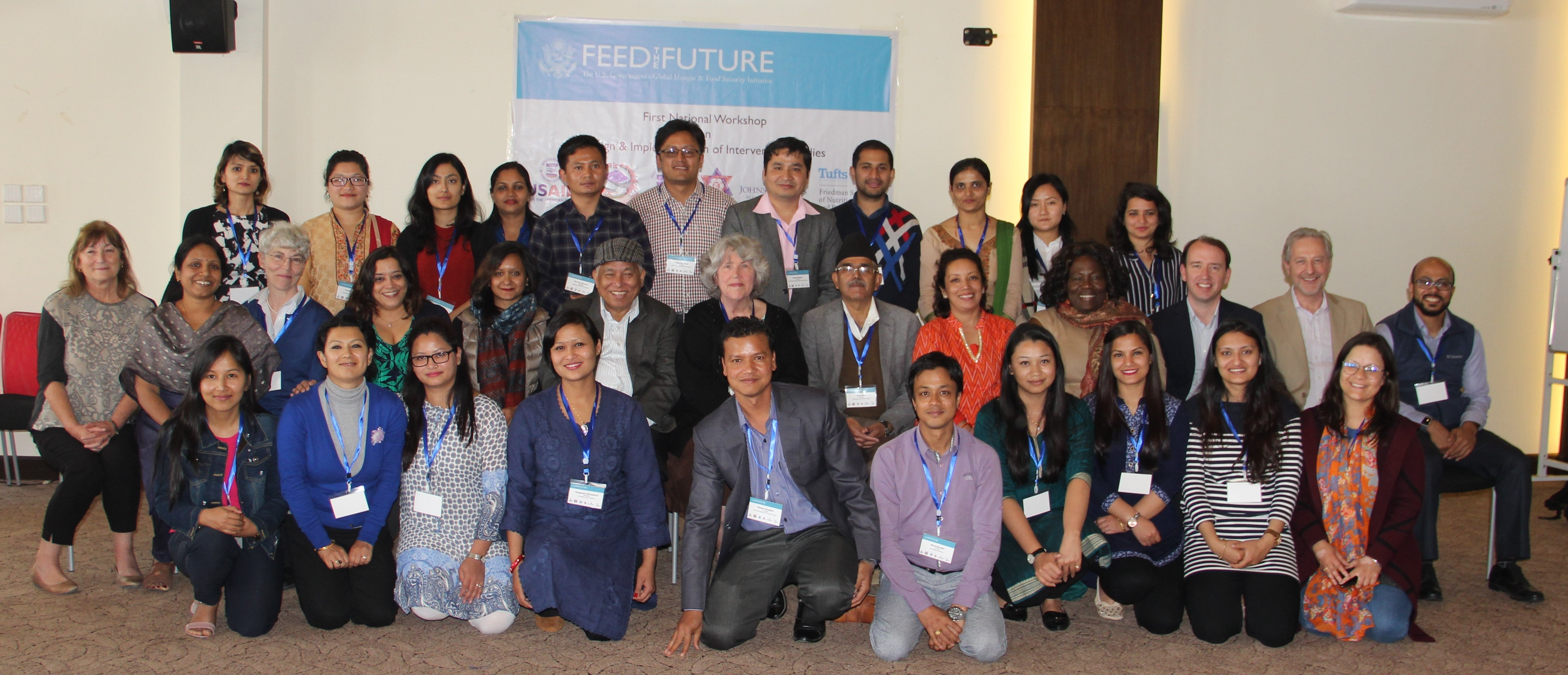 Nepal March Workshop students and faculty